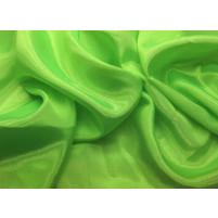 Perle chiffon Fluorescent grøn