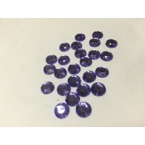 Round sew on ultra violet 10 mm