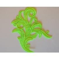 Tamara lace Electric green