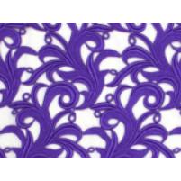 Tamara lace Purple rain