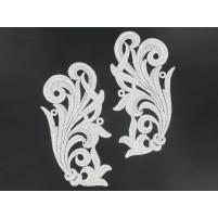 Tamara motif Silver