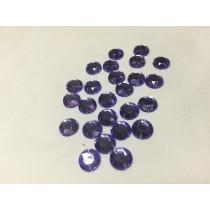 Round sew on ultra violet 10 mm