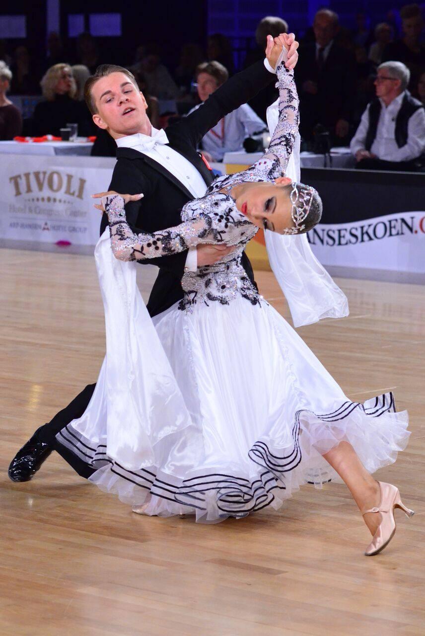 Sandra Andreasen og Benjamin Priis Standard